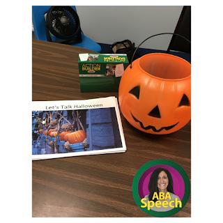 Speech Therapy Activities For Halloween