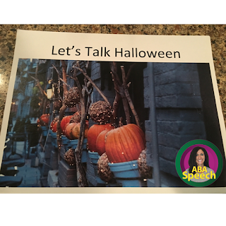 Speech Therapy Activities For Halloween