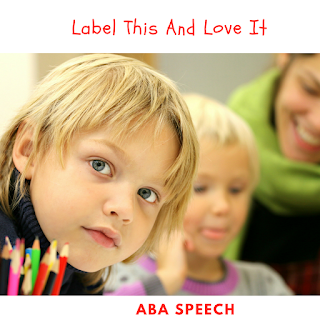 Expressive language skills- labeling