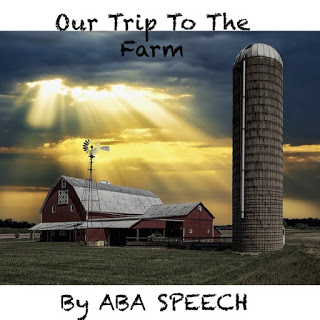 Speech therapy activity – adapted books