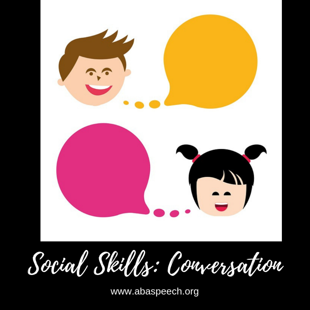 Social skills and conversation help our students increase their communication skills.