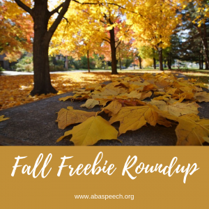 Fall free speech therapy resources to make your sessions a breeze.