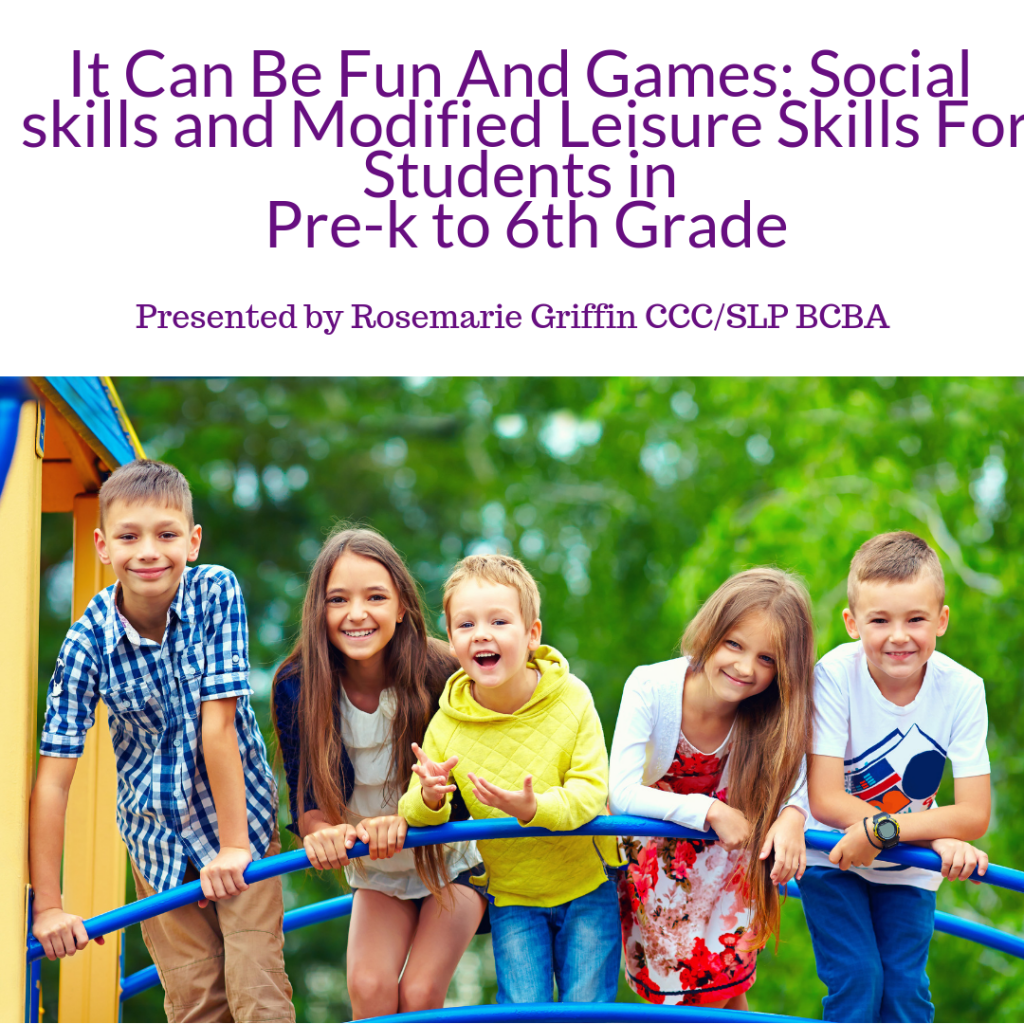 Social skills webinar for ASHA CEUS. A coupon code is included in this post. Make sure to read and pin today!