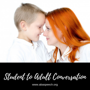 Social skills conversation is a wonderful blog post with a step by step guide on getting started.