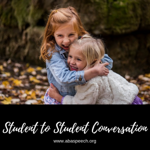 Social skills and conversation are essential to help a student increase their communication skills.