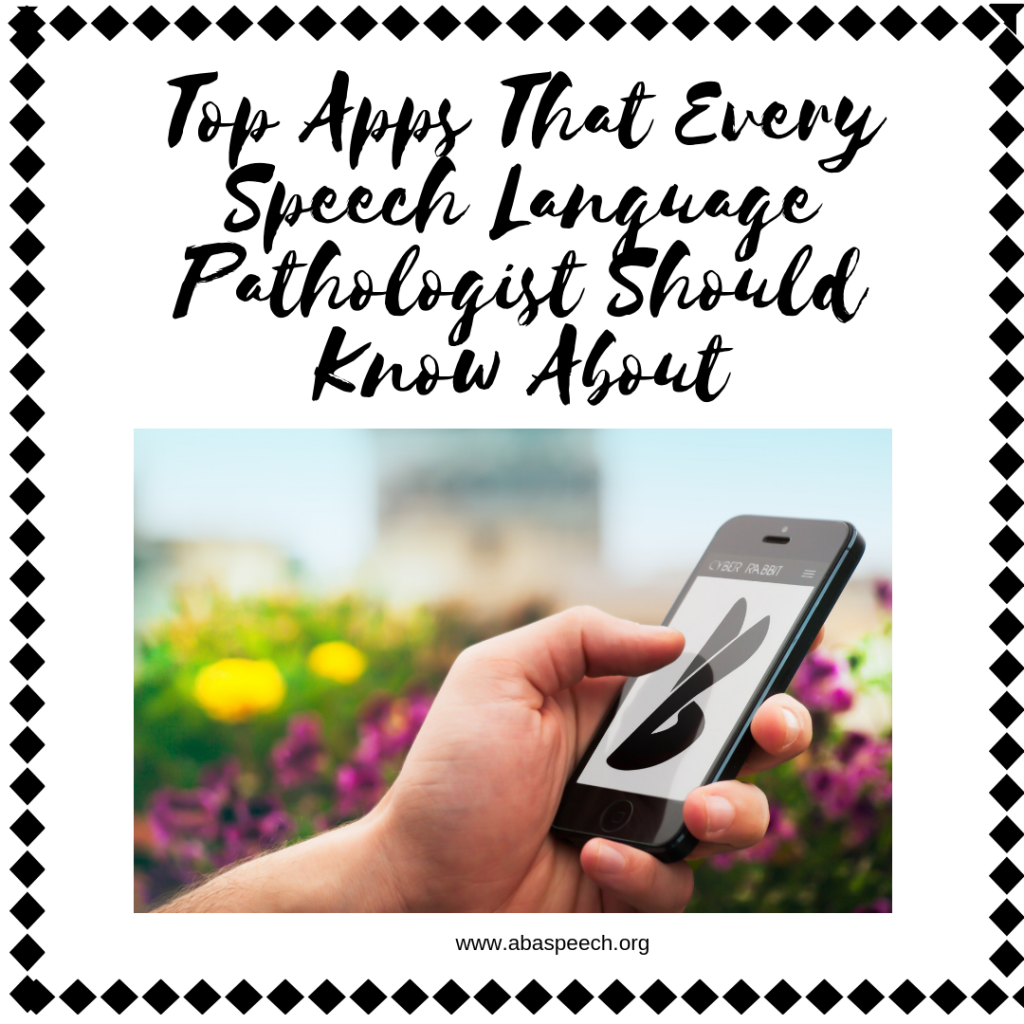 Apps for speech therapist