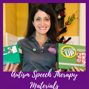 Autism speech therapy materials