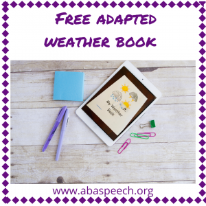 free adapted weather book