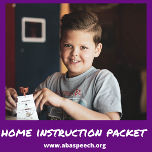 home-instruction-packet