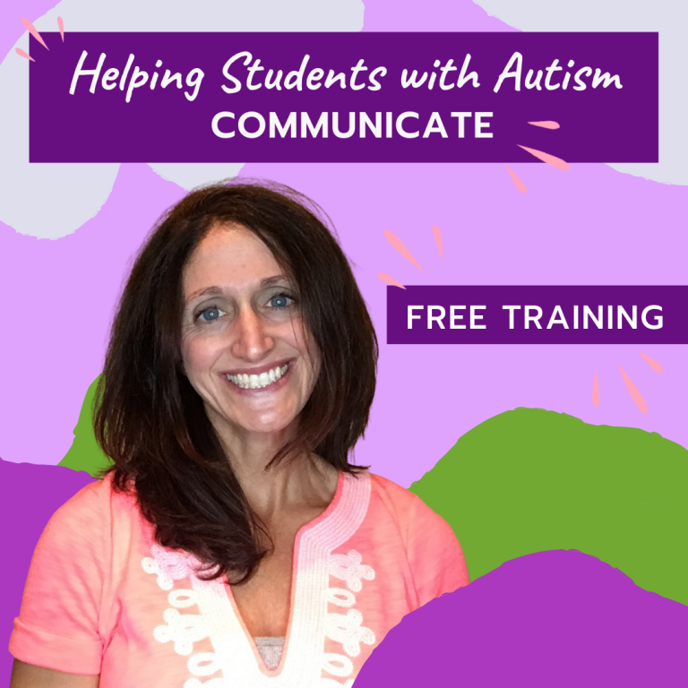 Free Webinar – 5 Strategies To Help Students With Autism Communicate During Times of Distance Learning