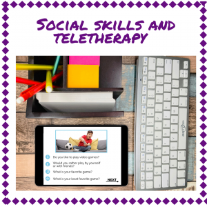 social skills and teletherapy blog
